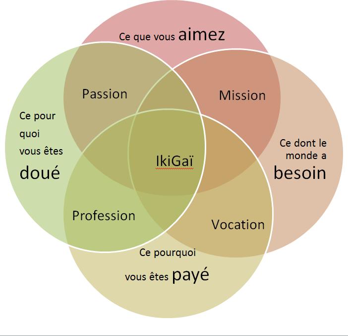 l'oeil de l'ikigaï