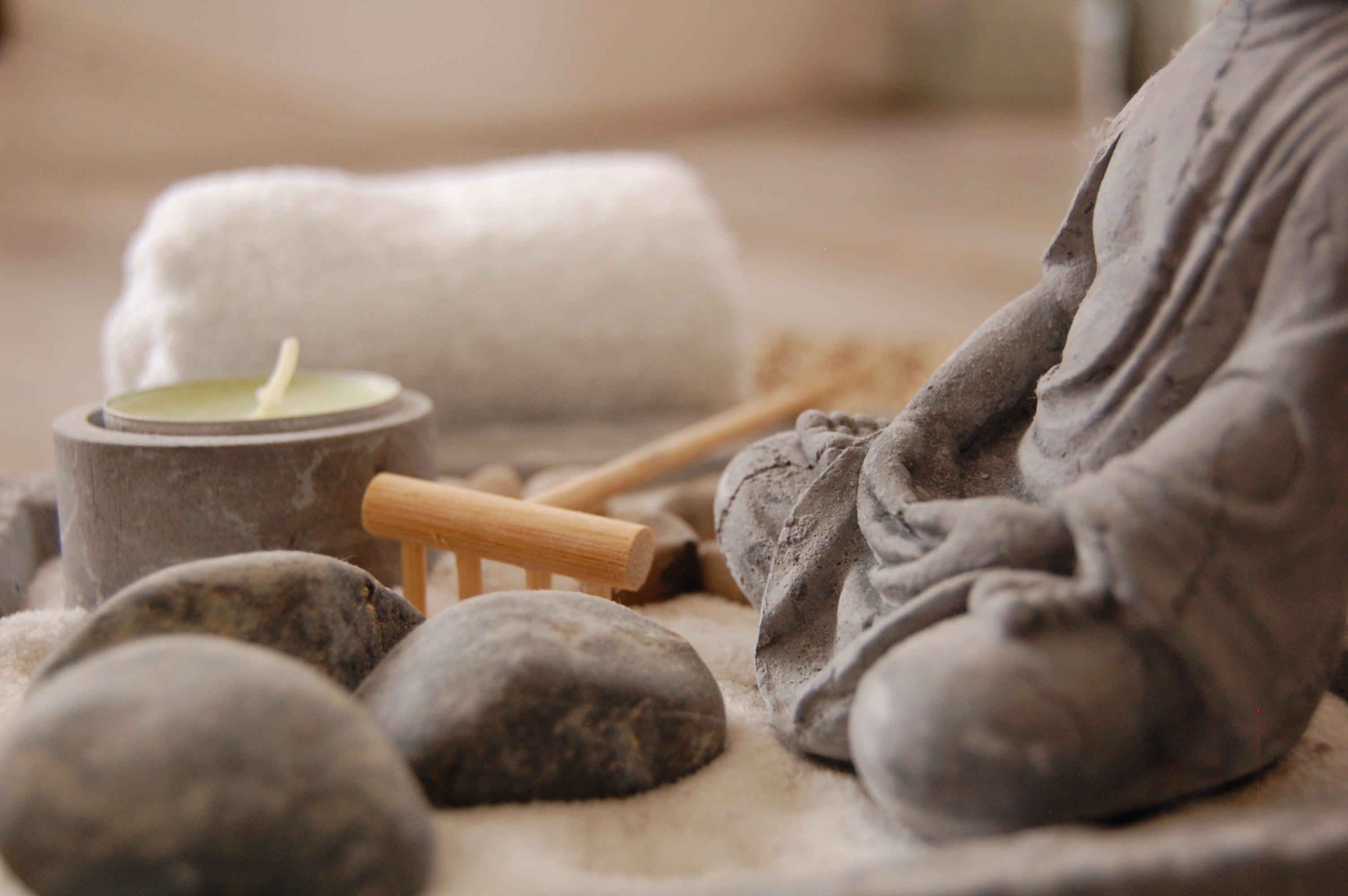 ambiance zen permettant le centrage sur soi